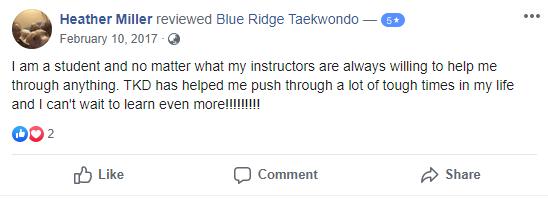 Adult 4, Blue Ridge TaeKwonDo