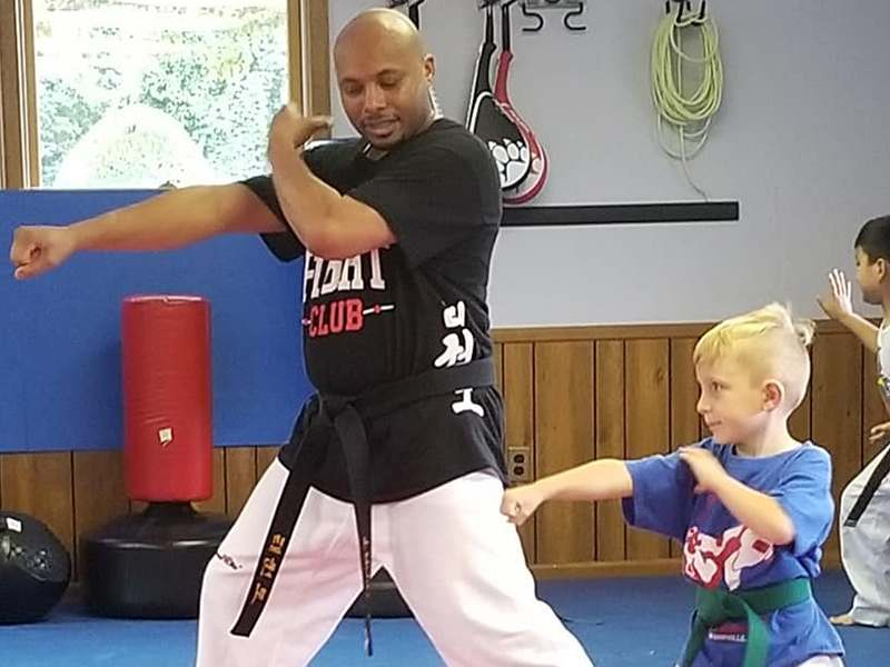 preschool martial arts in Asheville & Black Mountain